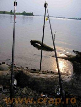 Pescuitul crapului pe rau - partea I